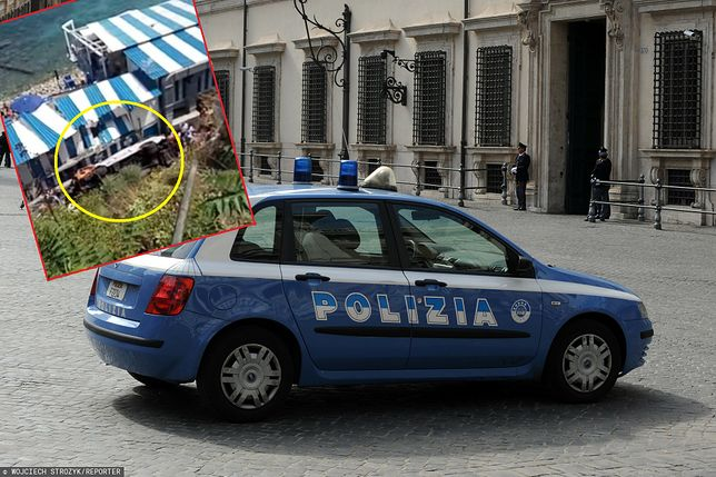 Tragedia we Włoszech. Spadł autobus. Jest wielu rannych, jedna osoba nie żyje