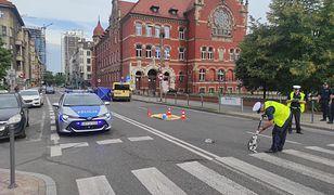 Do tragicznego zdarzenia doszło o 5.50 w centrum Katowic