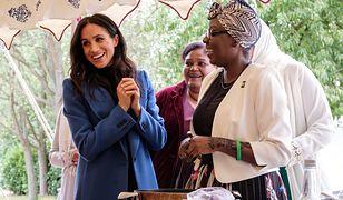 Księżna Meghan na przyjęciu z mężem i mamą. Świętowała wydanie książki kucharskiej