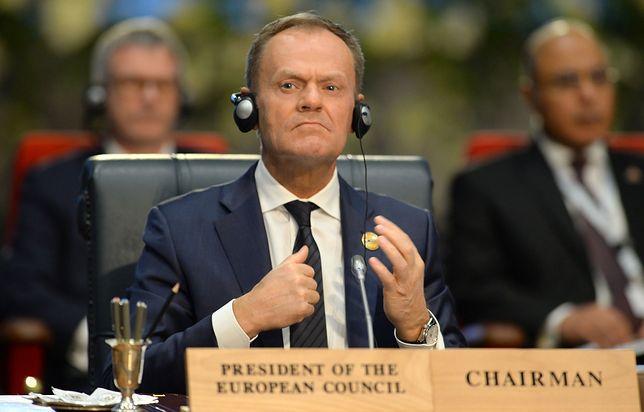 Donald Tusk przewodniczy obradom szczytu UE - Liga Arabska