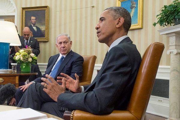 Barack Obama i Benjamin Netanjahu