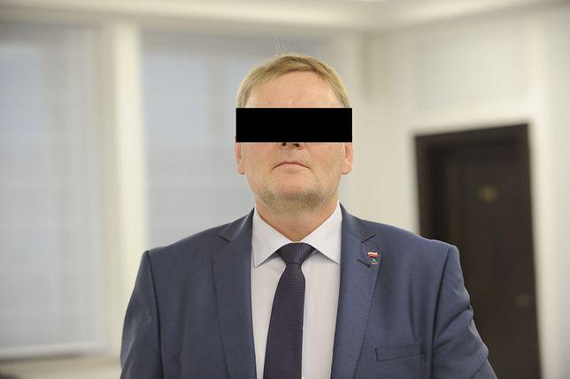 Waldemar B. znęcał się nad psem (PAP/Marcin Obara)