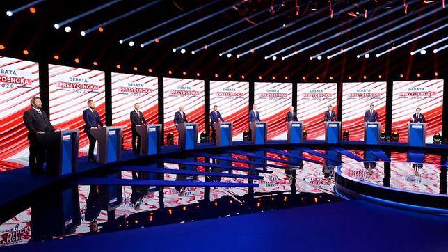 Debata prezydencka. TVP unieważnia sondę, którą wygrał Rafał Trzaskowski