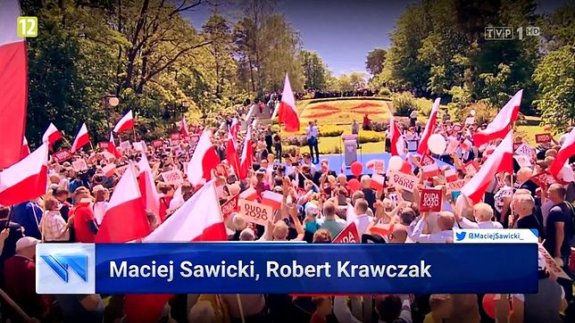 Materiał Macieja Sawickiego z TVP, podsumowujący kampanię prezydencką, robi furorę na Twitterze
