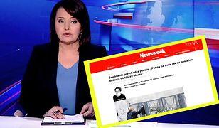 """""""Wiadomości"""" TVP wykorzystały tekst """"Newsweeka"""" w innym kontekście niż intencje autorki. Tak twierdzi dziennikarka Elżbieta Turlej"""