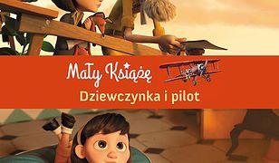 Mały Książę. Dziewczynka i pilot