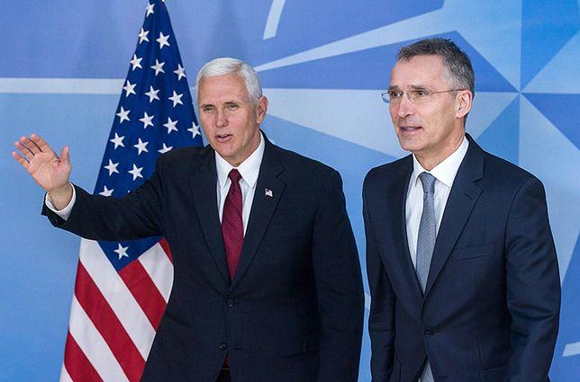 Wiceprezydent USA ponowił apel do Europy. Mike Pence w kwaterze NATO