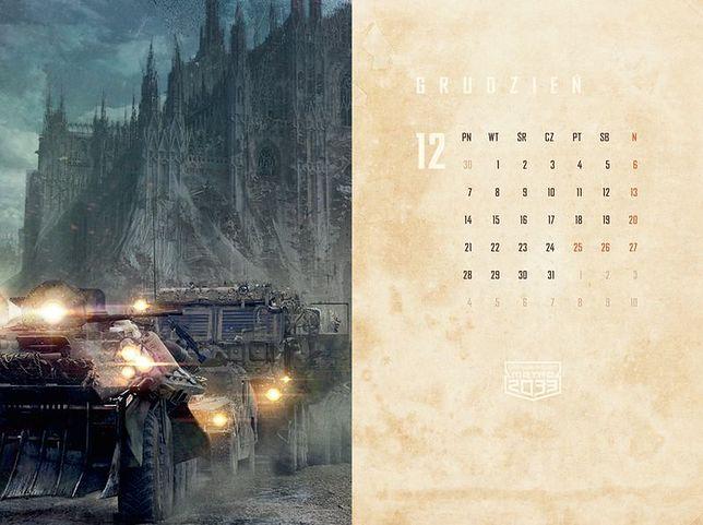 Kalendarze Uniwersum Metro 2033 już dostępne!