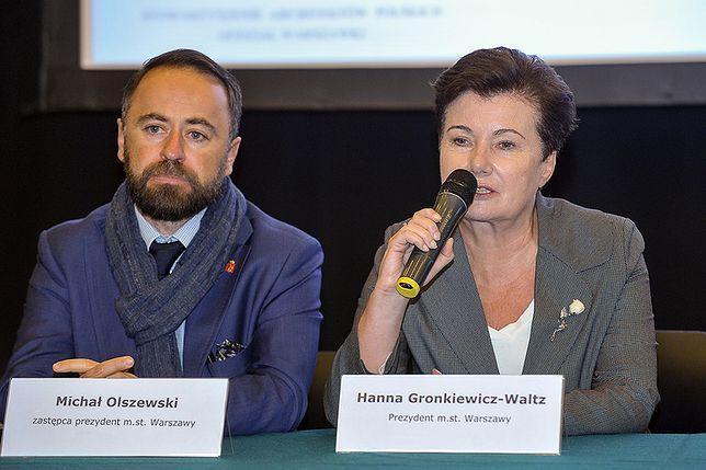 Gronkiewicz-Waltz wszczęła postępowania nadzorcze wobec PFN. Pyta Glińskiego, czy sprawdza fundację