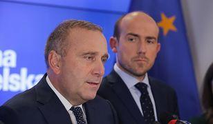 Grzegorz Schetyna i Borys Budka