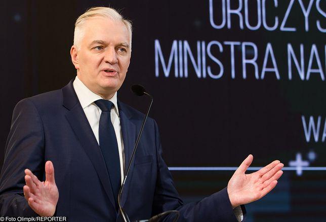 Dla Jarosława Gowina Kaczyński jest bardziej wartościowym rozmówcą od Tuska