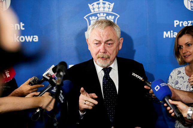 Jacek Majchrowski jest prezydentem Krakowa od 16 lat