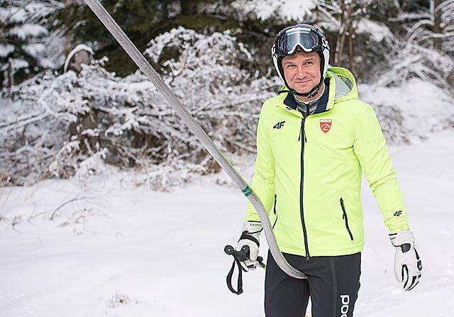 Narciarski zjazd Andrzeja Dudy - zdjęcia