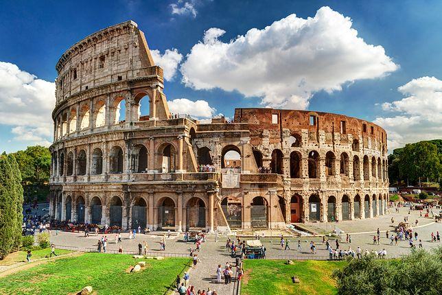 Koloseum zostało zbudowane w I roku n.e.