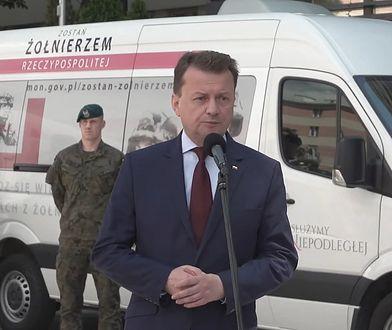 """Wracają ćwiczenia wojskowe. Szef MON: """"W ostatnich dniach zgłosiło się 880 osób"""""""