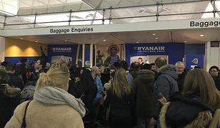 Z powodu śnieżycy odwołano loty do Londynu z kilku polskich miast