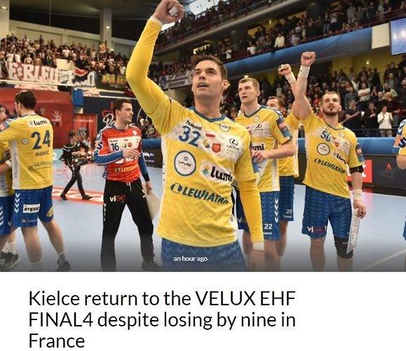 0e6750d21 Francuskie media rozczarowane przegranym dwumeczem PSG z VIVE ...