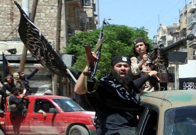 Bojownicy Frontu al-Nusra w północnym Aleppo, 2015 r.