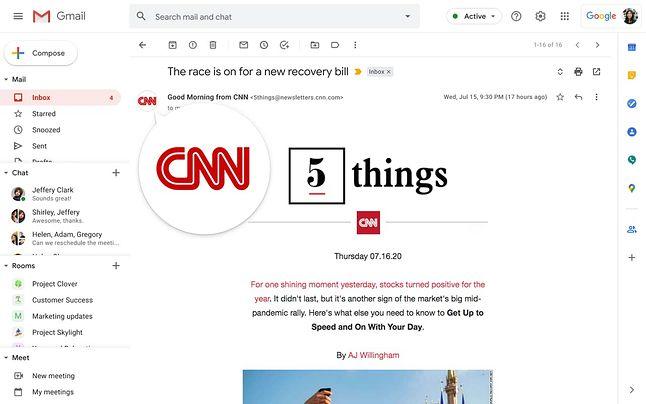 Google wprowadza obsługę BIMI do Gmaila, fot. Google Cloud Blog.