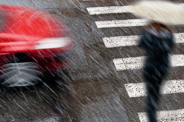 Ulewy i śnieg w Bułgarii. Dwie ofiary śmiertelne