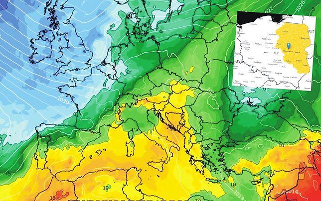 Pogoda. Ostrzeżenia IMGW 1. stopnia. Zmiana w prognozach