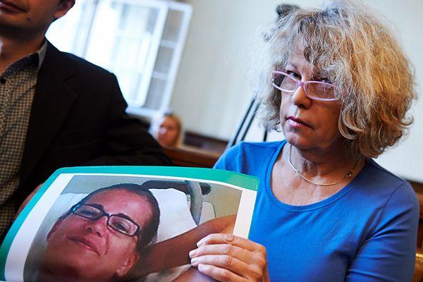 Ann-Katrin Berggren, matka Christiny Hedlund podczas procesu
