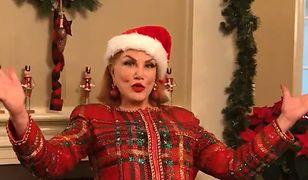 Życzenia świąteczne od Ambasady USA. Mosbacher tańczy i śpiewa