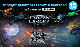 Spacjalne nagrody w Dark Orbit – pakiet o wartości 15 EURO na start