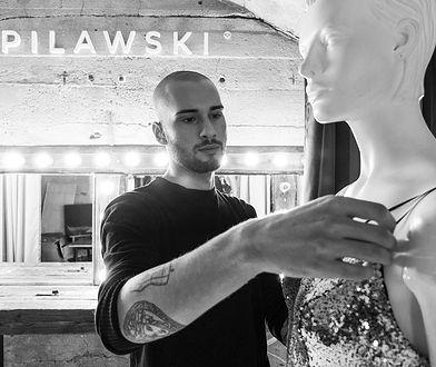 Bartek Pilawski w swojej pracowni
