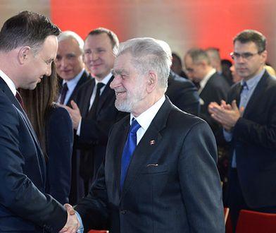 Andrzej Gwiazda laureatem nagrody im. Lecha Kaczyńskiego