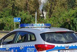 Dostawczak dachował na autostradzie A1 na Śląsku