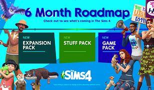 The Sims 4 czeka spory rozwój. Nadchodzą trzy nowe dodatki