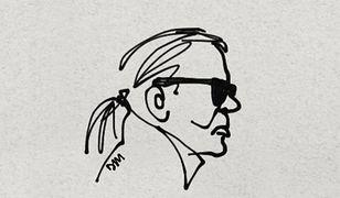 Matylda Damięcka po śmierci Karla Lagerfelda. Poruszająca grafika