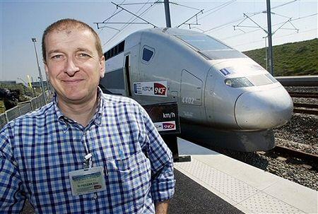 Światowy rekord prędkości pociągu pobity