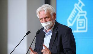 Prof. Andrzej Horban o słowach Niedzielskiego: zimno mi się robi