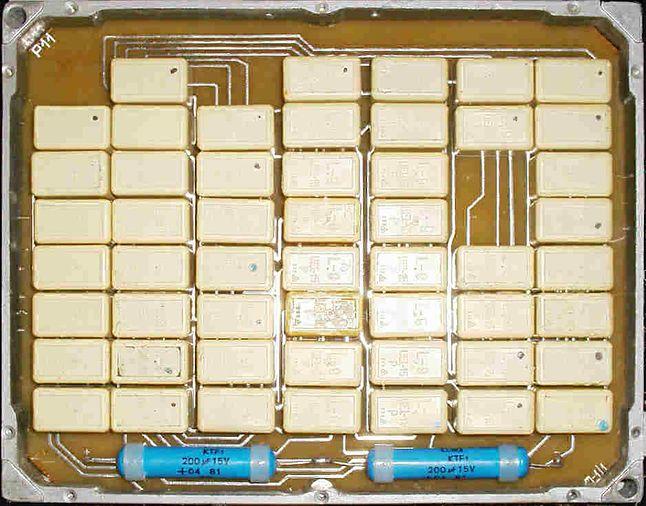 Wnętrze urządzenia TgS-1 DUDEK (źródło: http://www.cryptomuseum.com)
