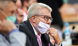 """Ryszard Czarnecki chciałby zagrać w """"M jak Miłość"""""""