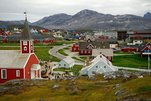Nuuk - stolica Zielonego Kraju