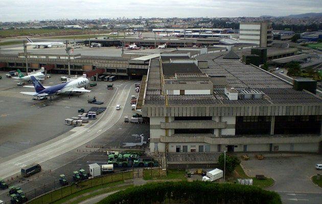 Miejsce 10. Port lotniczy São Paulo - Guarulhos, Brazylia