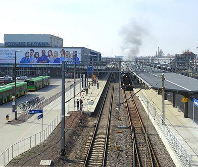 Stary budynek dworca kolejowego w Poznaniu