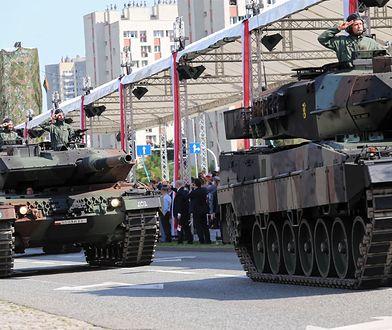 Katowice. Defilada z okazji Święta Wojska Polskiego 15 sierpnia