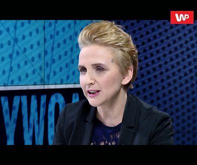 """Scheuring-Wielgus: """"Kaczyński tchórz"""" to nie mowa nienawiści, to fakt"""