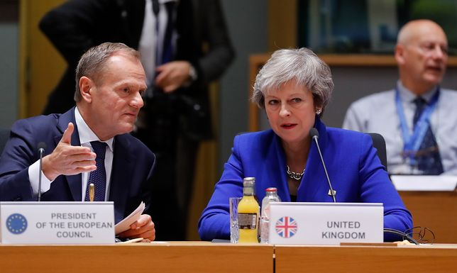 Rusza szczyt UE. Ważne wystąpienie Theresy May