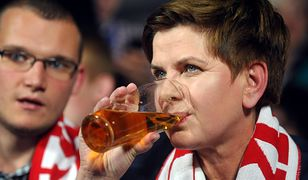 Rząd Beaty Szydło wydał na alkohol o 15 tys. zł rocznie więcej niż gabinet Mateusza Morawieckiego.