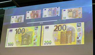 Są nowe banknoty 100 i 200 euro. Mają lepsze zabezpieczenia