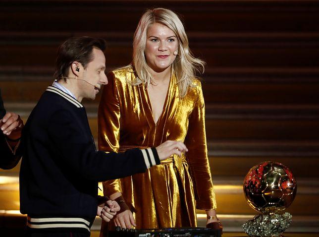 Ada Hegerberg jako pierwsza kobieta na świecie dostała Złotą Piłkę.