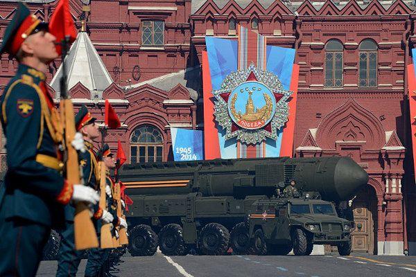 Rosyjski międzykontynentalny pocisk balistyczny Topol