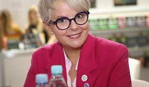 Karolina Korwin-Piotrowska o reklamowaniu suplementów przez Blankę Lipińską