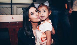 Kim Kardashian z córką