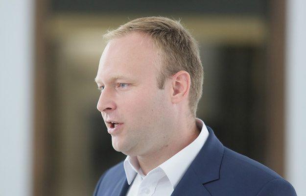 Marcin Mastalerek, b.rzecznik prasowy sztabu wyborczego PiS w sierpniu 2015 r.